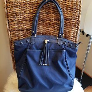 Olivia & Joy Navy Blue Handbag